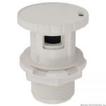 "Slimline Air Control, 1"" White"
