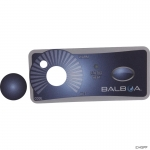 Overlay, Balboa Water Group Duplex, 1 Button/Knob