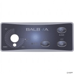 Overlay, Balboa Water Group Duplex, 3 Button/Knob