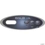 Overlay, Balboa Water Group Duplex Mini Oval, Jet/Light, LCD