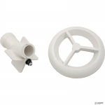 Flow Path Assy, BWG/HAI Microssage, w/Grill, White