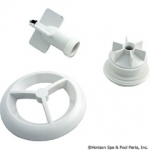 Microssage Grill And Flowpath Assy, White