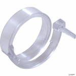 Clip Ring, BWG/Pentair Luxury Jet, w/Spacer, Clear
