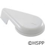 "Handle, WW Top Access Diverter Valve, 2"", Notched, White"