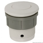 Flush Air Button, White