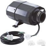 Blower Res S Mt 1Hp 120V 4.8A 3 pin Pigtail Silent Aire