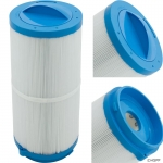 "Cartridge, 50sqft, 6"" x 12"", Rem Cap, Open Btm, 3 oz, w/Lock Tabs"
