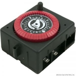 24 Hr. Panel Mount Timer, 240VAC, PF Series